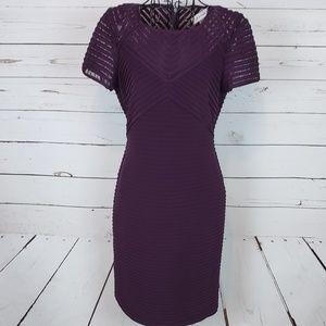 Calvin Klein Short Sleeve Tiered Dress Size 6P